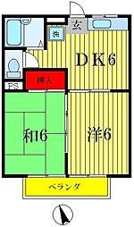新宿エスポワール[203号室]の間取り