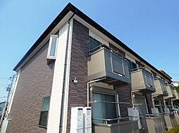 埼玉県川口市大字赤井の賃貸アパートの外観