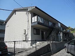 愛媛県松山市衣山2丁目の賃貸アパートの外観