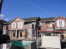 岡山県岡山市中区桑野の賃貸アパートの外観