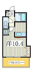 コンフォート柏[1階]の間取り