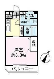 タイガーズマンション[2階]の間取り