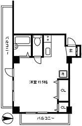 パレス代々木[2階]の間取り