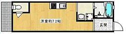 跡部本町テラスハウス[001号室]の間取り