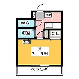 第8田畑ハイツ[2階]の間取り