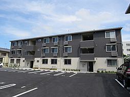 滋賀県栗東市高野の賃貸アパートの外観