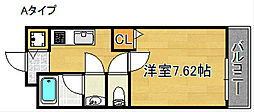 碧空館[1階]の間取り