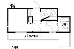 チサンマンション中山下[7階]の間取り