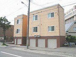 北海道札幌市西区発寒六条4丁目の賃貸アパートの外観