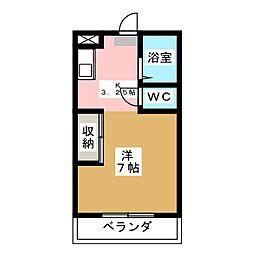 ソシエ2[2階]の間取り
