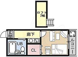 御陵駅 2.2万円