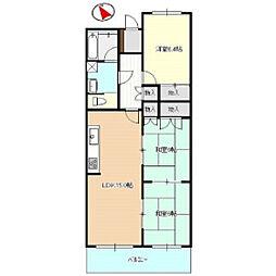 ニューライフ浜松[2階]の間取り