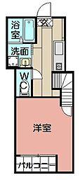 六本松555[102号室]の間取り