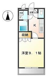 L・Garden[4階]の間取り