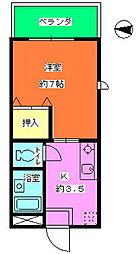 守口市駅 徒歩4分3階Fの間取り画像