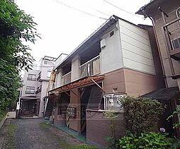 京都府京都市左京区高野玉岡町の賃貸アパートの外観