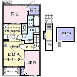 セレーノ 宮島[2階]の間取り