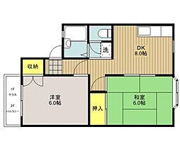 アーバンハウス21[103号室号室]の間取り