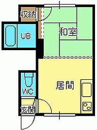 ビアンカマンション[13号室]の間取り