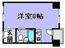 ラフォーレ若宮[5H号室]の間取り