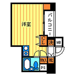伊勢原七番館[2階]の間取り