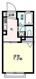 幸ハイツ  -デザインリフォーム賃貸アパート-[101号室]の間取り