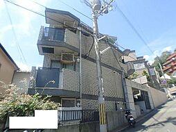 クリフサイド西岡本[3階]の外観