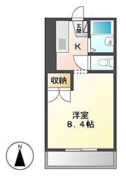 ヘーベルエスパスV B棟[2階]の間取り