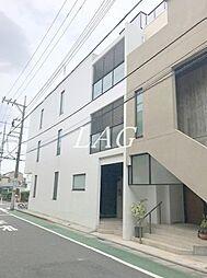 東京都板橋区常盤台4丁目の賃貸マンションの外観