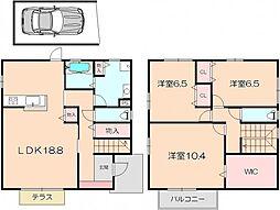 [タウンハウス] 大阪府豊中市東泉丘4丁目 の賃貸【/】の間取り