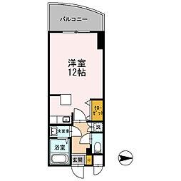 カスタリア新梅田[0604号室]の間取り