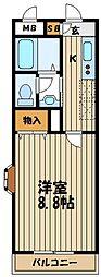 リリ'sマンション[2階]の間取り