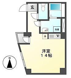 サンシャイン江川町[5階]の間取り