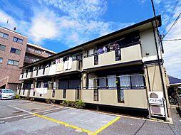 東京都小平市花小金井2丁目の賃貸アパートの外観