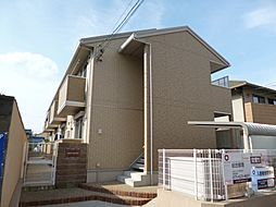 京都府京都市伏見区深草西浦町7丁目の賃貸アパートの外観