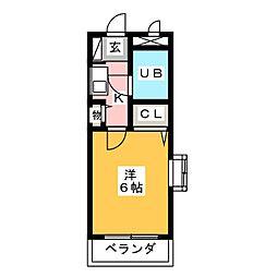 ダイアパレス平針[4階]の間取り