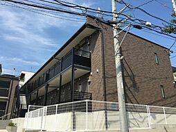 神奈川県横浜市保土ケ谷区峰岡町1丁目の賃貸アパートの外観