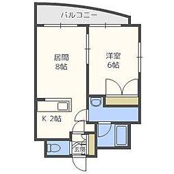 FEEL[7階]の間取り
