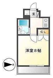 エクセル吹上[3階]の間取り