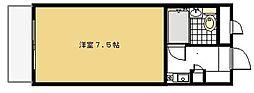 厚木ユースハイム[102号室]の間取り