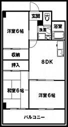 第2中川ビル[4階]の間取り