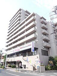 東京都北区志茂3の賃貸マンションの外観