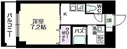 東京都墨田区石原4丁目の賃貸マンションの間取り