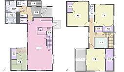 こだわりの注文住宅でありながら、住みやすいシンプルな間取りです。