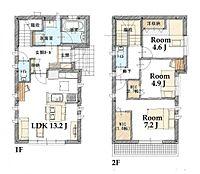 建物参考プラン 3LDK・建物面積80.52m2