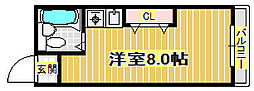 LIVE[3階]の間取り