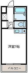 リバティベル[3階]の間取り