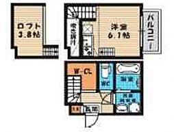 (仮称)旭区今市一丁目・SKHコーポA棟[103号室号室]の間取り