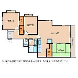 静岡県静岡市葵区西千代田町の賃貸マンションの間取り