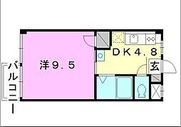 ポパイハイツ[303 号室号室]の間取り